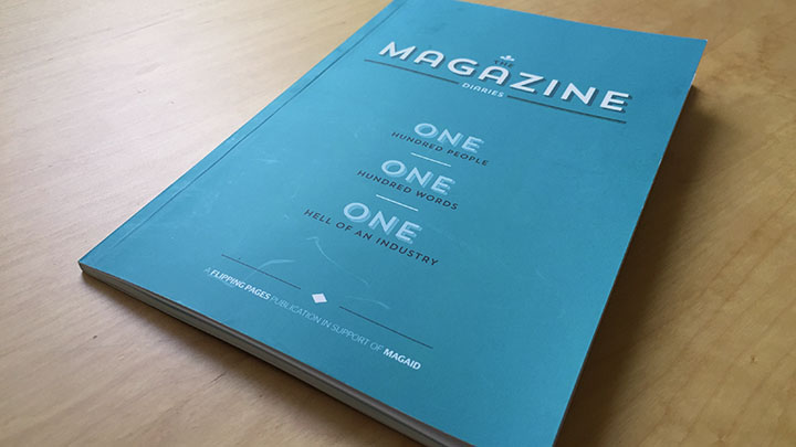 The Magazine Diaries book